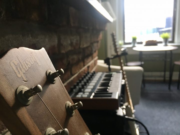 In the studio with Hotel Neon | Headphone Commute